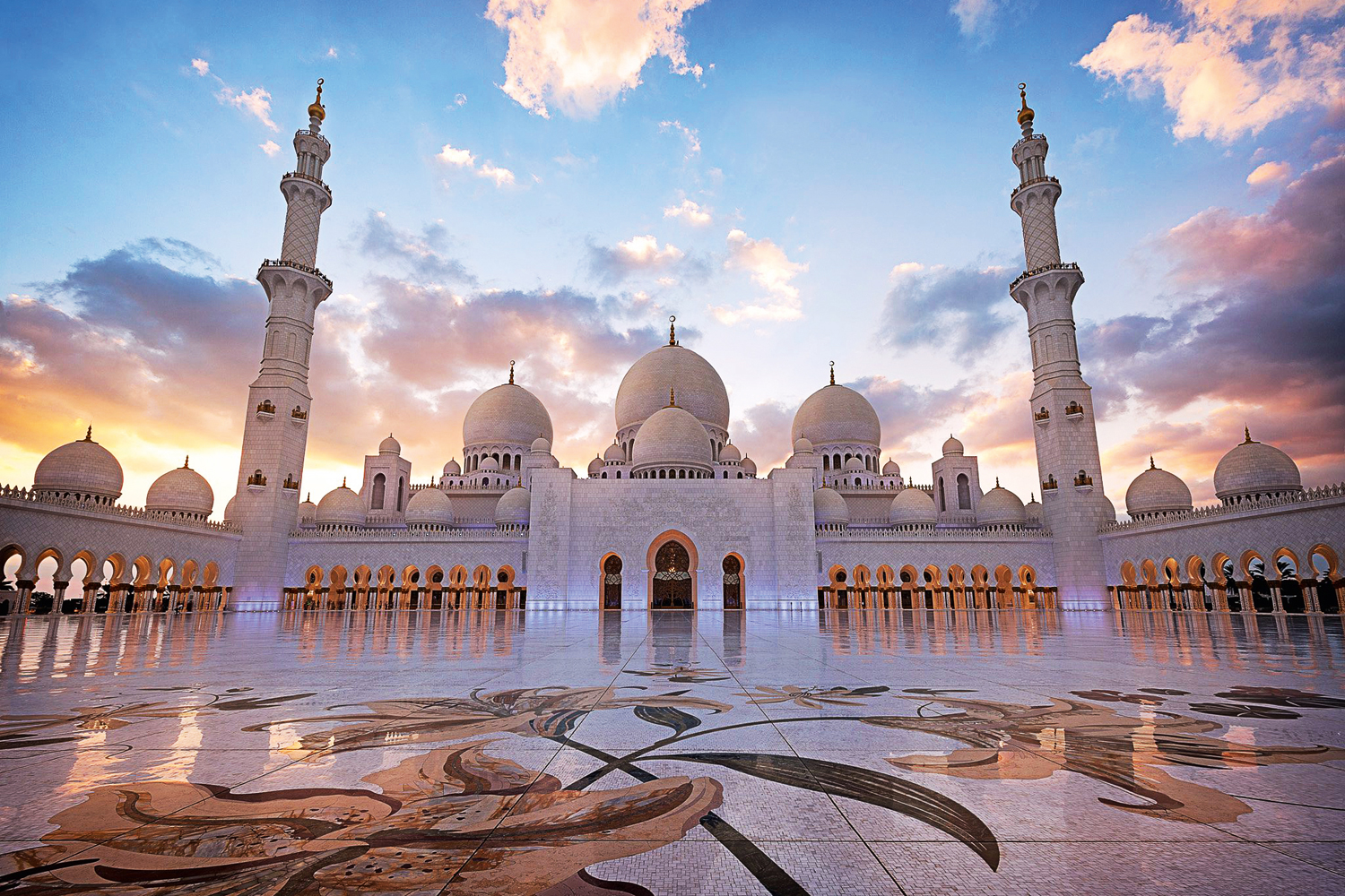 Abu Dhabi's Sheikh Zayed Grand Mosque named one of the best three landmarks  in the world   Attractions   Time Out Abu Dhabi