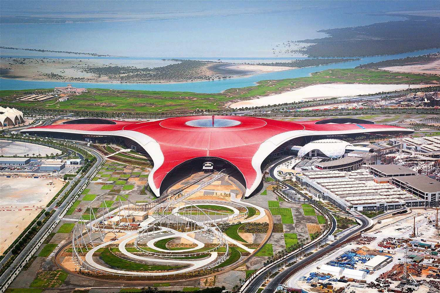 New Roller Coaster And Zip Line To Open At Ferrari World Abu Dhabi Attractions Time Out Abu Dhabi