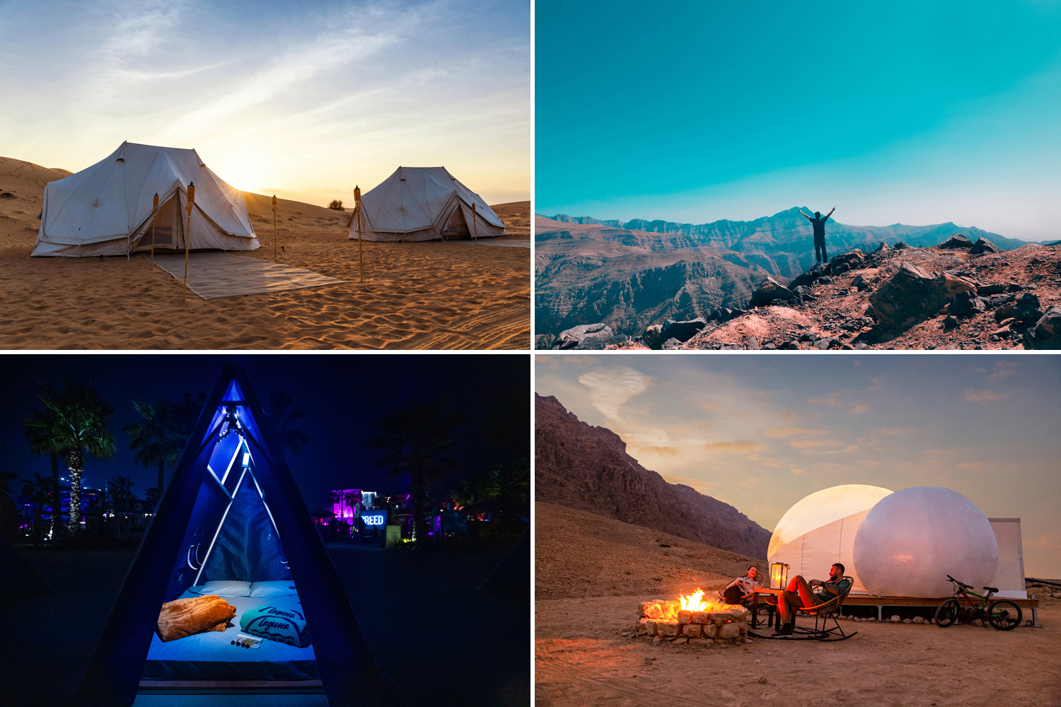 Four all-new outdoor adventures now open in the UAE
