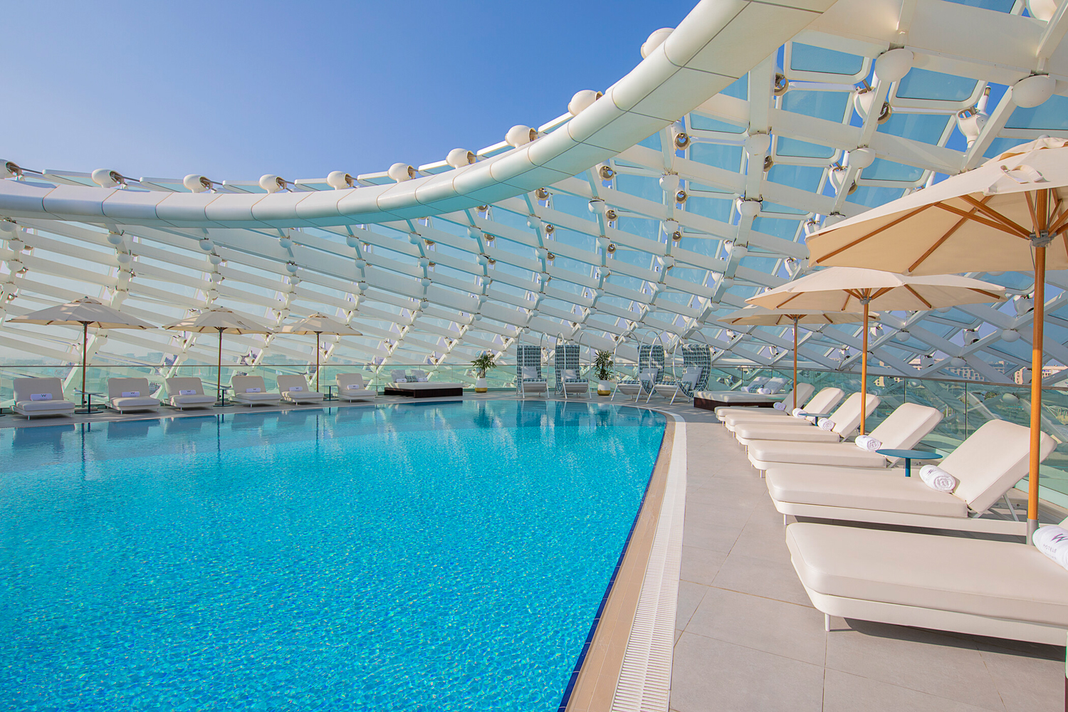 New Pool Pass At W Abu Dhabi Yas Island Gives You The Full Cost Back In Credit Things To Do Summer Offers Time Out Abu Dhabi