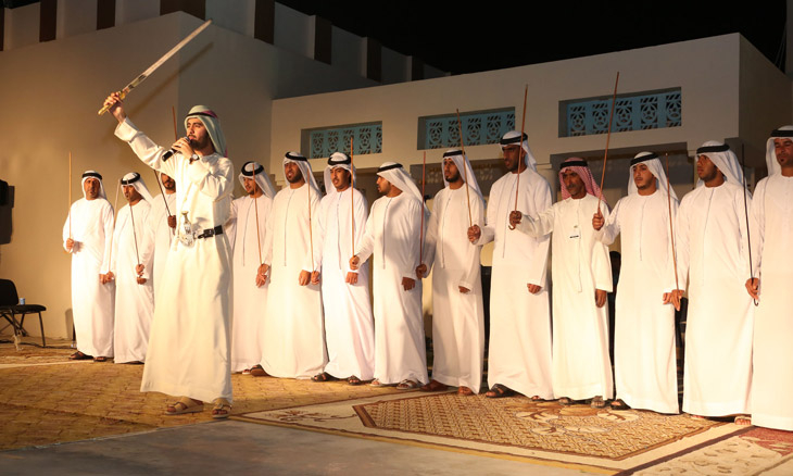 Traditional Uae Performing Art Al Azi Wins Unesco World Heritage