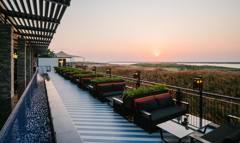 Abu Dhabi's Filini Garden relaunches night and weekend brunch