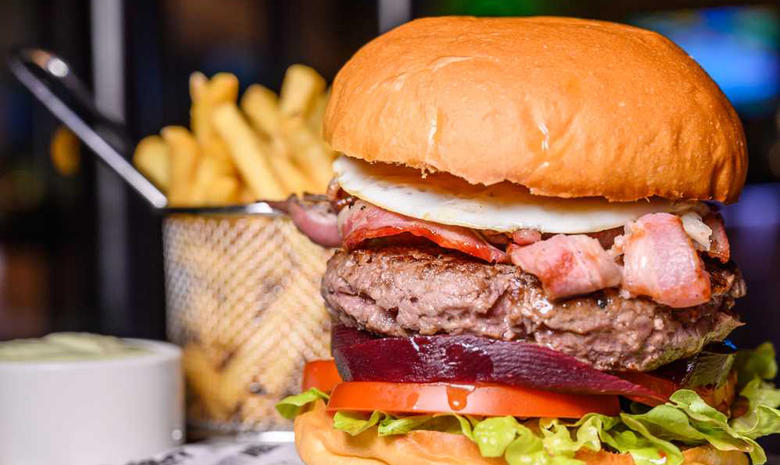 Get a burger and three pints for Dhs99 at Abu Dhabi's Velocity
