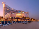 Beach Rotana:    The hotel offers an exclusive weekend getaway classic room for Dhs750 with a complimentary breakfast and an access to the hotel's beach club. Price is subject to 10% service charge & 6% tourism fee. Call 02 697 9000 for reservations