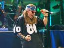 Name: Guns N'Roses  Hits: Sweet Child o'Mine, November Rain, Paradise City  Date: December 16  Venue: Yas Arena