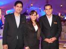 Ronald Fernandes, Samira Nabil and Zaki Hussein