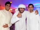 Nawaf Alblooshi, Abdulla Abdulkarim and Abdulaziz bin Ablan