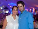 Ali Merhi and Nada Samaha