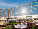 Fairmont Bab Al BahrIf you fancy watching the football somewhere altogether more stylish then Fairmont Bab Al Bahr has pulled out all of the stops. The hotel is hosting a 600-person capacity tent on the beach, which will be equipped with everything the hardcore football fan and casual partygoer could possibly hope for. Four huge projector screens and scores of smaller TVs will show all the action from every game, with full commentary and pre-match build-up also being broadcast throughout the tournament. Table reservations are also available, with beverage deals and food menus to complete the ultimate viewing experience.Fairmont Bab Al Bahr, Bain Al Jessrain (02 654 3333).