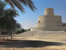 TO THE FORT The focal point of most of the heritage events in Al Ain, Al Jahili Fort was built in the 1890s under instruction from Zayed the First. Pictured here before it was restored in 2007, it's now a tourist attraction.