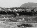 A DIFFERENT LANDSCAPE This picture from the 1970s shows Al Ain with Jebel Hafeet in the background