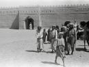 A SNAPSHOT OF AN ERAThis image goes way back to the 1940s, and was taken by celebrated British explorer Wilfred Thesiger. It shows Bedouins outside Qasr Al Muwaji, where Sheikh Zayed lived