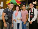 Yavuz Unal, Jiyoung Son, Sara Buarki and Daniel Ting