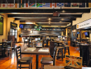 Harvester'sIn summer 2019 a Dhs18 happy hour was introduced from noon until 10pm every single day, making this a bargain spot if you want to watch a couple of matches on a weekend. The smoky underground bar has a veteran's charm. Probably not one for date night, but, then again, if date night involves watching a game of footy, then maybe it is. Holiday Inn Downtown Abu Dhabi, Zayed the First Street (02 615 6666).