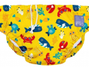 Dhs89Bambino Mio Reusable Swim NappyThis super-soft cotton terry lined machine washable swim nappy can be used over and over, with a concealed water resistant layer and leak-proof legs (2+ years).www.mamasandpapas.ae