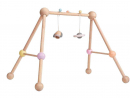 Dhs225.75Plan Toys Wooden Play GymA plastic-free activity gym with two suspended toys to stimulate your baby's curiosity. The structure is designed with four legs to prevent rocking.www.mumzworld.com