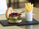 OléaThis upmarket restaurant has a perfect spot on Saadiyat Island. During Showdown Week you can get a grilled beef burger with turkey bacon, cheese, lettuce, mayonnaise and sliced pickled beetroot plus a pint of hops for Dhs110. We reckon that's worth heading out to the island for.Dhs110. The St. Regis Saadiyat Island Resort, Abu Dhabi (02 498 8888).