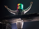 Marshmello at Yasalam after-race concerts The first of four days of live music at du Arena arts with dance music maestro Marshmello. Known for his striking white helmet that masks his identity, he recently performed a massive concert through the video game Fortnite. The multi-platinum selling DJ is best known for his songs Happier, Alone, Friends, Wolves and Keep It Mello. It's going to be a great way to start a big weekend of live music. Now where can we get a Marshmello helmet for the show?Tickets to the show available with Formula One tickets and are not for general sale.