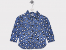 Dhs185Little Wren spotty shirtTiny dudes will rock this ultra-edgy denim print shirt, that will look perfect with a pair of white shorts.www.littlewren.com