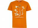 Dhs79River Island embossed T shirtYour little man will stand out for all the right reasons in this super cool orange tee.www.riverisland.com