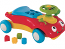FOR THE BOYSTiny tots (under three)Dhs399 ELC Wobble Toddler Ride OnThe colourful car converts from a walker to a ride-on. Kids will love the noises, parents, less so.Early Learning Centre.