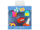 Dhs15 Smily Kiddos fancy eraser setIf they make a mistake, they can rub it out in style and start over again. Easy.www.sprii.ae.