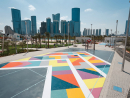 Stroll, skate or play in Reem Central ParkNot only is it absolutely massive but there's also loads to do in this cool public park. Located in the heart of Reem Island, the green space feature playparks, outdoor gyms, restaurants, a beachfront, a fountain with daily light shows, sports courts and a skate park. Fitness workshops and film screenings are also held in the park as well as regular meet-ups and there's even local art on display throughout the space. It's very cool.Open 24 hours www.reemcentralpark.com.