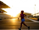 Hit the track We love Yas Marina Circuit and not just during F1 weekend. With TrainYAS and TrainAM you can walk, cycle or run the 5.55km track absolutely free and build up your fitness or just take in the sights of a world-class Formula One circuit. Sessions are held five times a week on two evenings and two mornings. Evening training takes place on Tuesday and Sunday from 6pm to 10pm and morning training sessions take place on Monday, Wednesday and Thursday from 5am to 8am. You can hire a bike for free or get on your running shoes and go for it. Just remember to register beforehand or on site and you'll be on track in no time.Free (registration required). Tue & Sun 6pm-10pm, Mon, Wed & Thu 5am-8am. Yas Island, www.yasmarinacircuit.com.