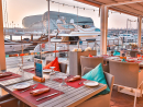 Aquarium It's free-flowing beverage time if you eat at the Marina-side seafood restaurant on a Wednesday. It's also paella night, which is bottomless for Dhs99.Wed 7pm onwards. Yas Marina, Yas Island (050 696 9357).