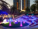 B.Lounge Three free drinks and tunes from a DJ at this outdoor lounge.Thu 9pm-midnight. Sheraton Abu Dhabi Hotel & Resort, Corniche East (02 677 3333).