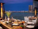 Finz There aren't many more romantic things in our book than ordering a dozen oysters and a bottle of fizz to enjoy while watching pretty lights twinkle over shimmering waters below. At Finz, that's exactly what you can do any night of the week. A truly charming restaurant.Beach Rotana Abu Dhabi, Al Zahiya (02 697 9011).