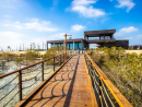 Visit the brand new Mangrove Walk Abu Dhabi's new Mangrove walk has officially opened to the public. The new attraction on Jubail Island is located between Saadiyat Island and Yas Island. The walkway is open daily from 8am to 6.30pm. It's free of charge and will allow you to take a stroll through the mangroves, explore the natural landscape and go wildlife spotting. There are three pathways, the longest covers a distance of 2km and the shortest is 1km. A floating platforms with netting is also on site where you can take a look at the marine life underwater. Before you visit, it's worth noting that a maximum holding capacity is in place at the attraction. If visitor numbers exceed the maximum number you will have to wait for some visitors to leave before being permitted entry into the walkway. A kids education area, information centre and viewing platform is also at the site. We can't wait to check it out.  Free. Daily 8am-6.30pm. Jubail Island www.park.jubailisland.ae.
