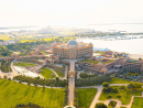 The Emirates Palace from above.Credit: @lostmagpie