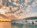 Abu Dhabi, a city where you can get some culture by kayak while watching the sunset.Credit: @joyswanderings