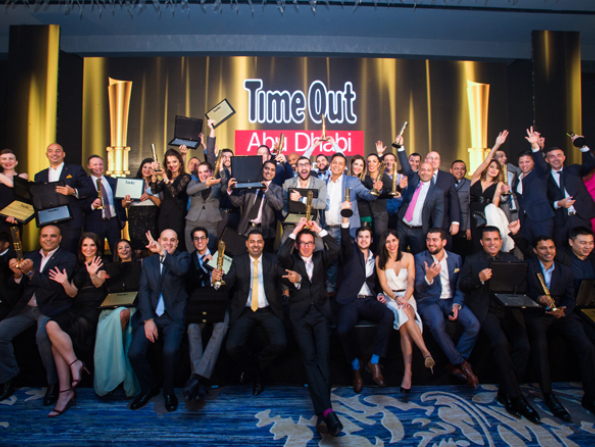Time Out Abu Dhabi Restaurant Awards 2017 party pictures