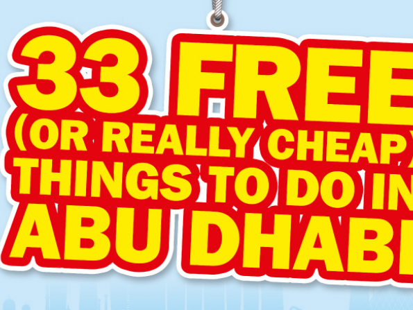 Fantastic free things to do in Abu Dhabi