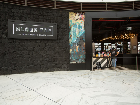 In pictures: First look inside Abu Dhabi's new Black Tap burger joint