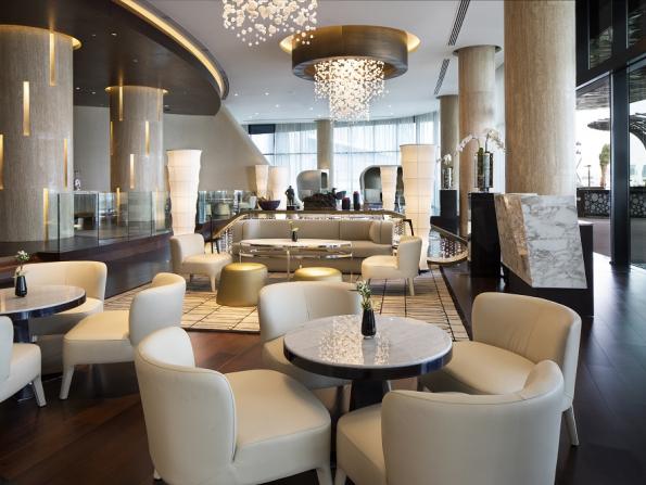 Ultra-plush Pearl Lounge opens in Abu Dhabi's newest luxury hotel