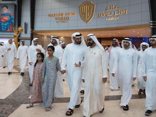 Warner Bros. World Abu Dhabi officially opened by UAE dignitaries