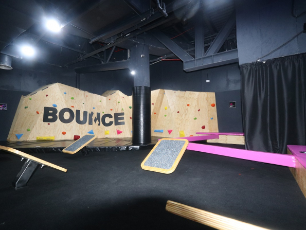 Unleash your inner ninja with this epic new obstacle course in Abu Dhabi
