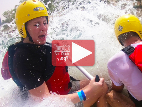 Time Out Abu Dhabi tries whitewater rafting in Al Ain