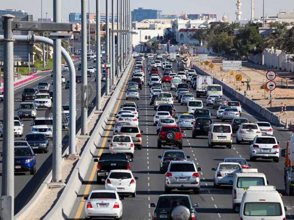 Abu Dhabi speeding fines cut in half