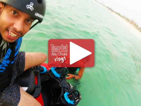We go on a roadtrip to try FLYBOARDING in DUBAI
