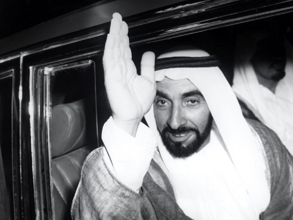 Abu Dhabi art group creating unique tribute to Sheikh Zayed