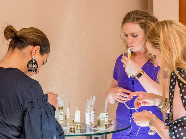 Make your own perfume at this Abu Dhabi hotel