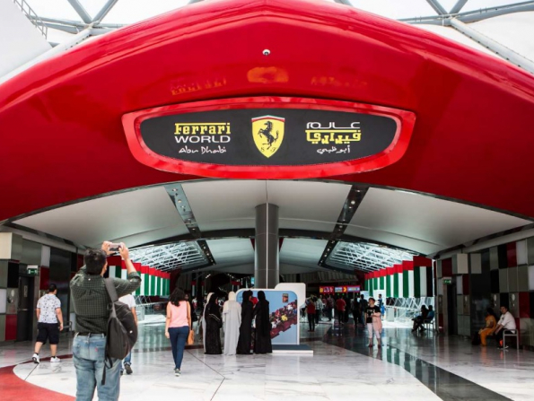 Limber up for this cool indoor run at Ferrari World Abu Dhabi