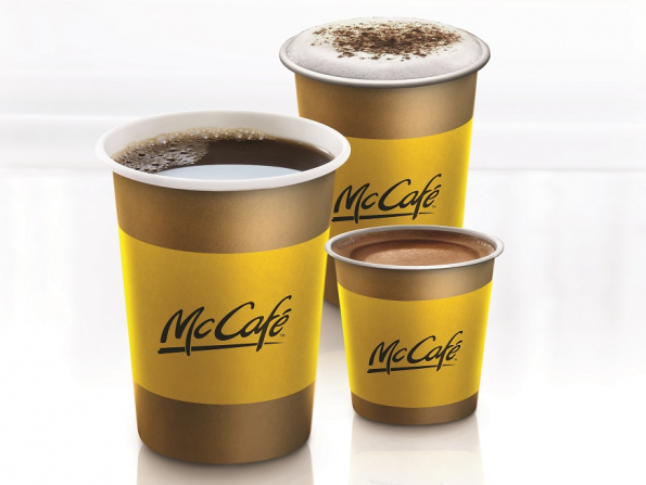 Free coffee at McDonald's in Abu Dhabi this week