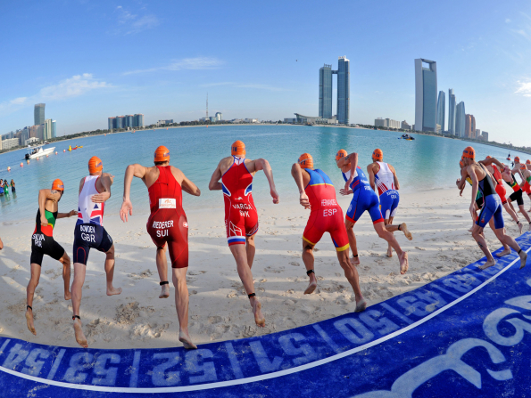 Abu Dhabi to host the ITU World Triathlon Grand Final