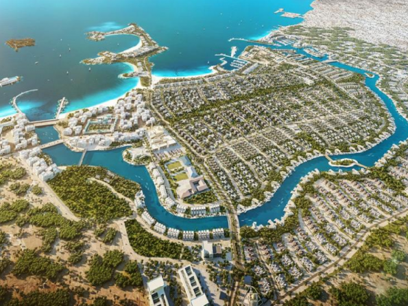 New beachfront living hotspot planned between Abu Dhabi and Dubai
