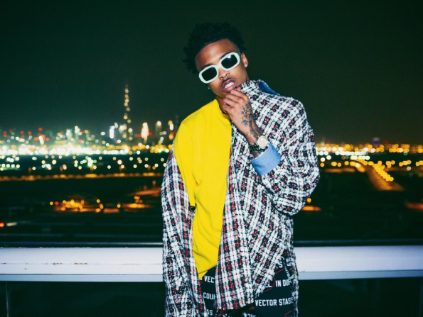 Rising R&B star coming to Abu Dhabi